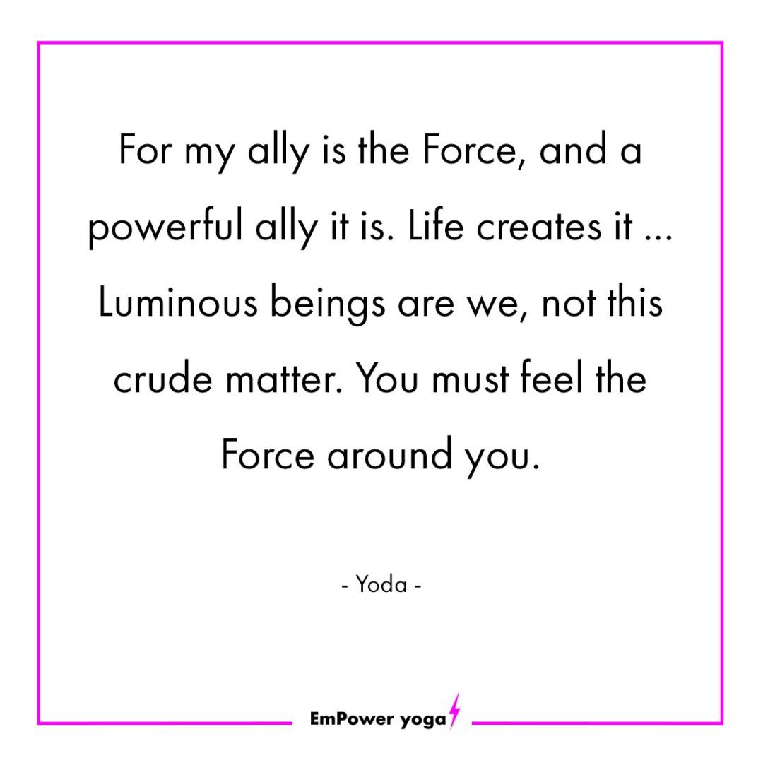 Yoda post