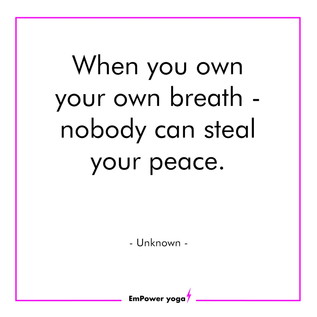 Find your breath